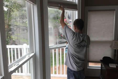 ProMaterialsDirect - eShield - Window Film Install
